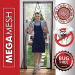 Magnetic Screen Door – Heavy Duty Reinforced Mesh
