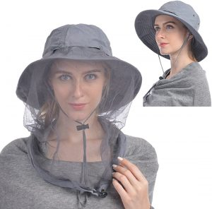 Mosquito Head Net Hat, Anti-Mosquito Hat or Sun Hat!