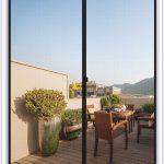 MAGZO Magnetic Screen Door 48 x 80